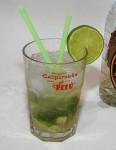 A Brazilian cocktail - the Caipirinha